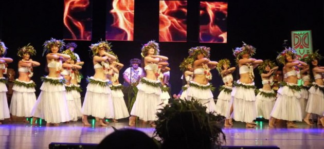 Schools dance Heiva in Tahiti with Te Tuamarama