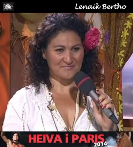 MC du heiva I Paris 2014