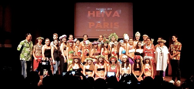 First Heiva in Paris